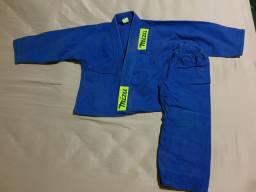 Kimono infantil M0 azul