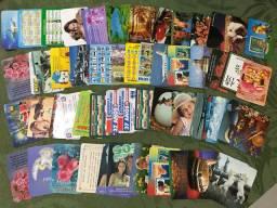 Coleção 54 calendários preço por tudo