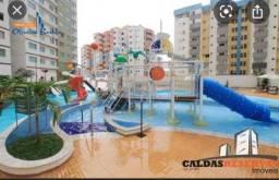 Apartamento com 2 dormitórios à venda, 60 m² por R$ 300.000,00 - Turista I - Caldas Novas/