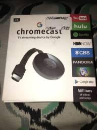 Chromecast mirascren