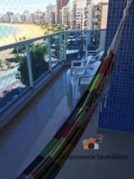 Apartamento para Temporada em Vila Velha, Praia da Costa, 2 dormitórios, 1 suíte, 2 banhei