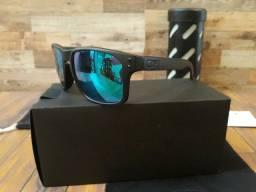 Óculos Oakley Holbrook Moto GP Preto/Esmeralda Polarizado - Importado e Novo