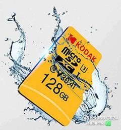 Cartao de memória MicroSD 128gb e 65 gb KODAk! Alta performance