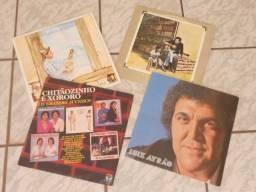 LPs - Rolando Boldrin e Outros (Liquida: 4 LPs)