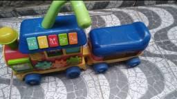 Trenzinho Infantil musical Andador