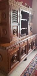 Oratório de madeira maciça/mesa de centro/cantoneira