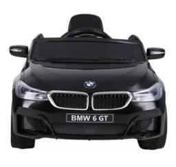 Carro Elétrico BMW 6 GT 12V Bel Brink - Preto
