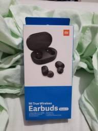 Fone de ouvido sem fio bluetooth Earbuds - Xiaomi Original Lacrado