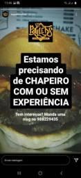 Vaga para Chapeiro