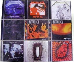 Coleção Metallica - 11 CD's e 6 DVD's