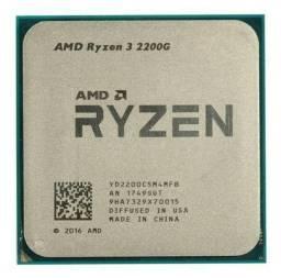 Ryzen 3 2200G com Vídeo integrado