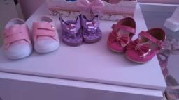 Desapego de calçados tamanho 18
