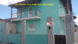 Leo vende, bairro Cidade Nova, 4 suítes, casa ampla