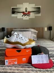 Air Jordan 11 Low ?Closing Ceremony? Dourado