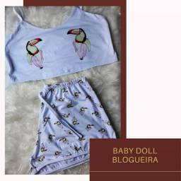 Baby Doll Blogueira