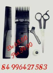 Máquina de barbear e cabelo