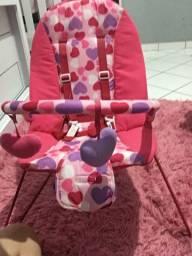 Cadeira vibra e toca