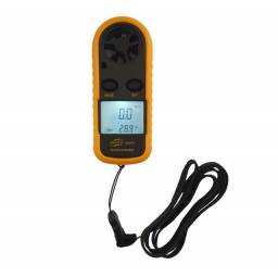 Anemômetro Digital Mede Velocidade Vento Drone Termômetro