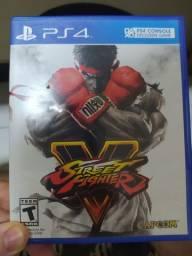 Street Fighter V - PS4 - Vendo ou troco.