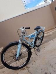 Bicicleta ( troco por bicicleta de macha)