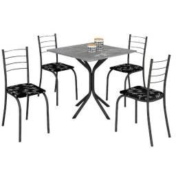 Frete Grátis - Mesa Rio 4 Cadeiras tampo granito - Até 12x no Cartão de Crédito