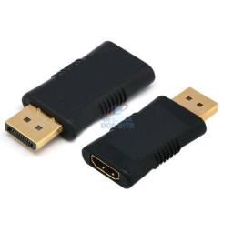 Adaptador conversor displayport p/hdmi p/eletroeletrônico em geral nv.na cx.aceito cartão