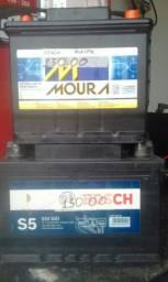 Baterias usadas semi novas  * 3 meses de garantia.  Deixando a bateria velha