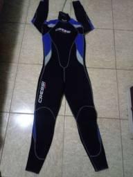 Roupa Mergulho Cressi e Nadadeira Extreme