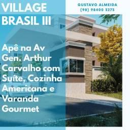 [67]O seu Apê no Turu, com 57m², Varanda e Suíte/ Village Brasil III