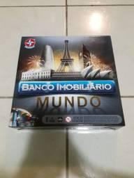 Banco Imobiliário Mundo NOVO