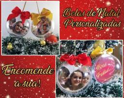 Bolinhas de Natal em Acrílico (leia a descrição)
