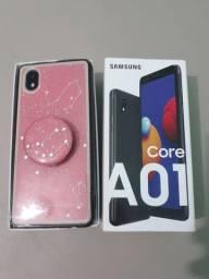Celular Samsung A01 core estado de loja