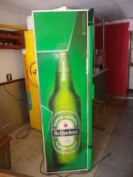Expositor de bebidas original da Heineken