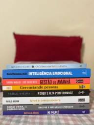 Vendo livros sobre liderança, alta gestão e investimento R$150,00