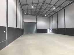 Aluga-se galpão novo 730m² pe direito 09 metros