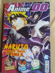 Revistas de anime 5 reais cada 8 revistas