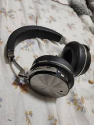 Fone Bluedio T4s Bluetooth com cancelamento de ruído