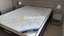 Cama Cama Box + Colchao Sleep King 158 Queen Size Ortobom A Pronta Entrega