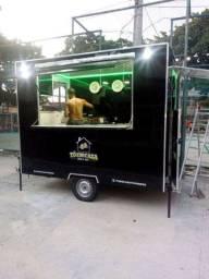 Trailer Food truck 19.500 aceito carro