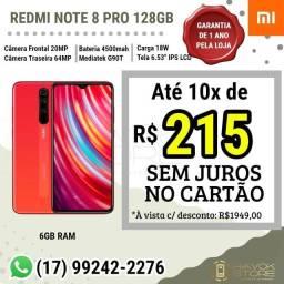 SMARTPHONE REDMI NOTE 8 PRO (128GB) PRONTA ENTREGA