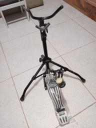 Pedal de Beteria e Suporte pra Saxofone (USADOS)