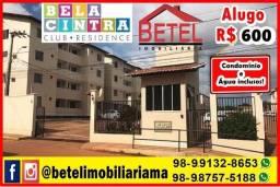 Aluga-se Apartamento Bela Cintra por 600 (próximo a Estrada de Ribamar)