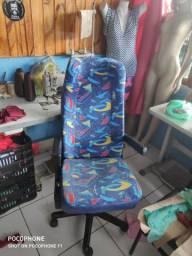 Cadeira com banco de ônibus