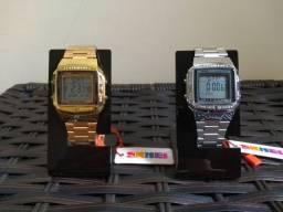 Relógios Skmei Unissex Modelo Retrô 1381. Disponíveis duas Cores!!!