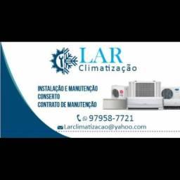 Serviço de climatização