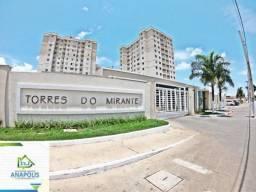 Apartamento no Torres do Mirante, 2/4 com suíte reversível, 60 m² / Vila Jaíara