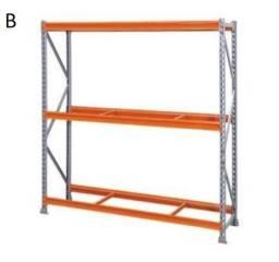 Prateleira de aço para estoque e organização