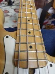 Baixo Fender American Standard Jazz Bass c/ case