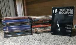 DVDs de filmes antigos e usados (Leia a descrição)