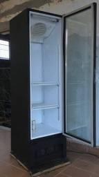 Refrigerador porta de vidro 324l *PASSO CARTÃO